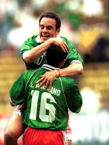 Cuauhtémoc Blanco fue campeón de goleo de la Copa Confederaciones de 1999. Hizo nueve anotaciones.