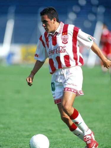 Cuauhtémoc Blanco jugó en Necaxa de 1997 a 1998.
