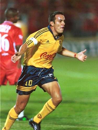 Con 15 goles Cuauhtémoc Blanco es el máximo goleador mexicano en la Copa Libertadores de América.