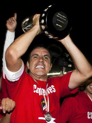 Cuauhtémoc Blanco fue campeón en la Liga de Ascenso con Irapuato en el Clausura 2011.
