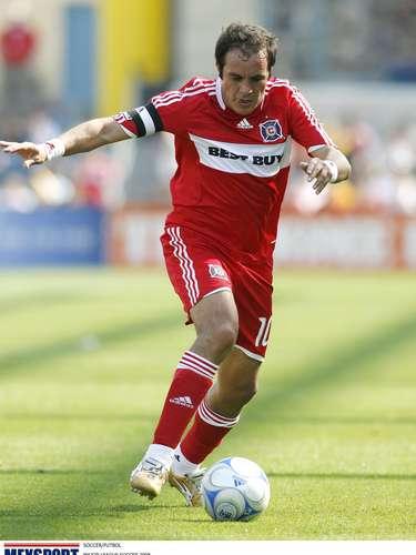Cuauhtémoc Blanco probó fortuna en el Chicago Fire de la MLS. Rápido se convirtió en ídolo del equipo. Estuvo del 2007 al 2009.