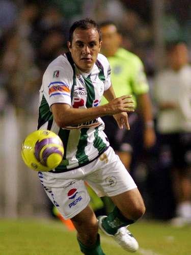 Cuauhtémoc Blanco llegó para reforzar a Santos en la Liguilla del Apertura 2008.