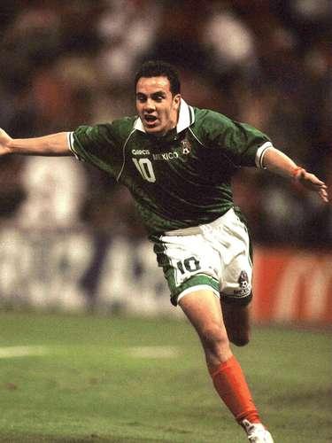 Cuauhtémoc Blanco fue campeón con México de la Copa Confederaciones de 1999. Vencieron 4-3 a Brasil en el Estadio Azteca.