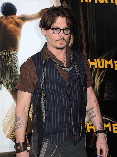 Johnny Depp tiene varios tatuajes