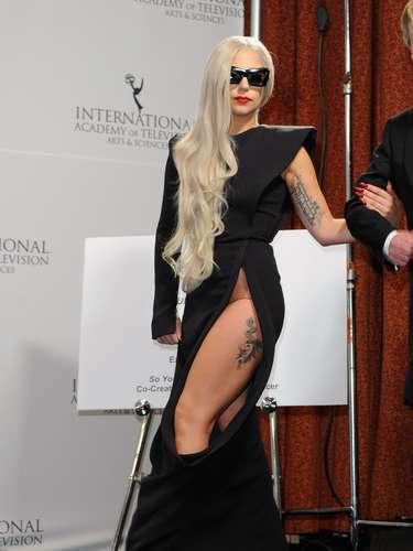 Lady Gaga tiene varios tatuajes en su cuerpo