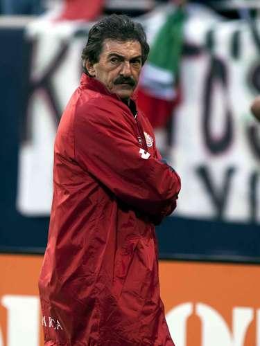 Ricardo Lavolpe, campeón con Atlante en la 92-93.