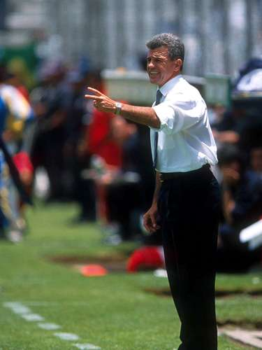 Javier Aguirre, campeón con Pachuca en el Invierno 1999.