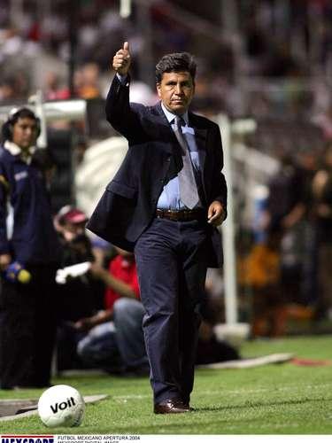 Raúl Arias, campeón con Necaxa en el Invierno 1998.