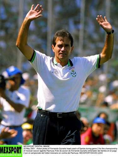 Fernando Quirarte, campeón con Santos en el Verano 2001