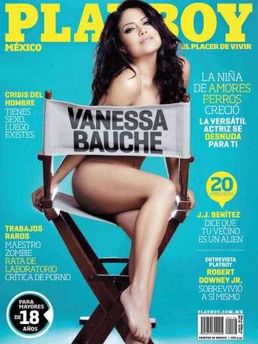 La actriz Vanessa Bauche presumió con mucho orgullo su aparición en la Playboy de febrero de 2012.