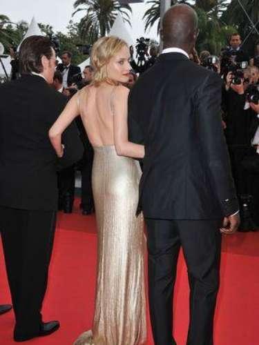 Diane Kruger no duda, en cada instante, mostrarse seductora.