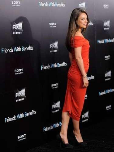 Mila Kunis es una de las bellezas de la farándula que siempre dan de qué hablar.