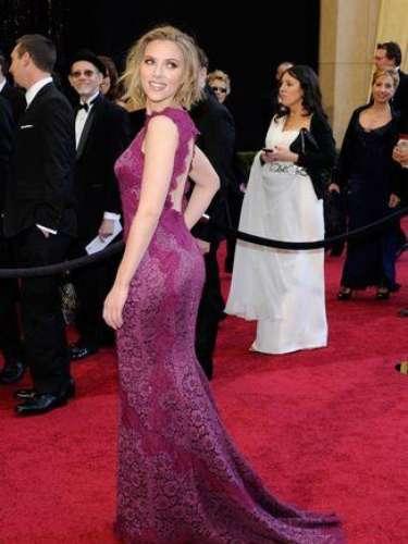 Scarlett Johansson es de las actrices que deja mucho a la imaginación.