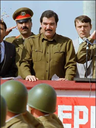 En abril de 1992, el presidente afgano Mohamed Najibulá fue derrocado por los muyahidines y se refugió durante cuatro años en un local de la ONU en Kabul.