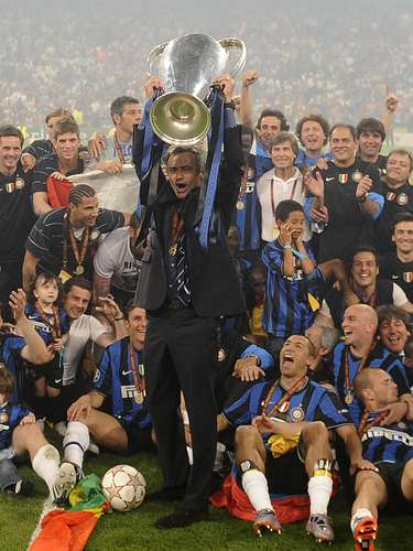 7. On May 22, 2010, Mourinho became just the third manager to win Champions League titles with two different teams, as Inter Milan defeated Bayern Munich 2-0 at the Santiago Bernabeu stadium in Madrid. Argentine striker Diego Milito scored both goals for Mourinho's team, which won a treble of titles that season.