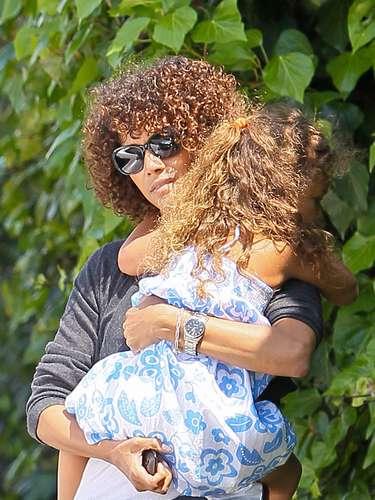 Halle Berry de paseo con Nahla