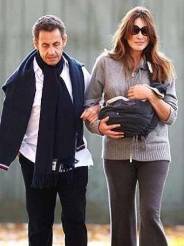 Carla Bruni dio a luz a una nena en Octubre del 2011