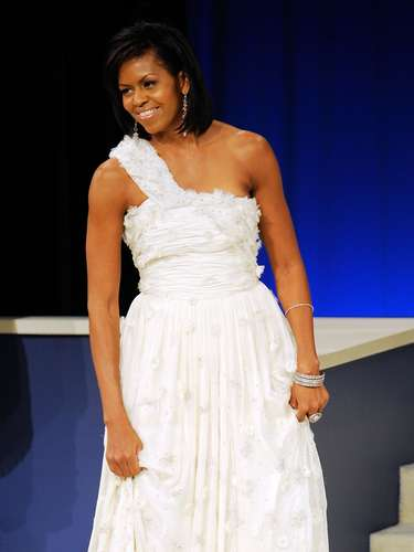 Michelle Obama has been a style icon since her husband, Barack Obama, started his campaign towards presidency. The First Lady of America has impressed with her soft, every-day looks that American's feel they are attainable during the economic crisis. Michelle has shown she is young, fashionable and can have fun with clothes. Let's take a look at some of Mrs. Obama's best looks. Sound off and tell us which ones are your favorite.