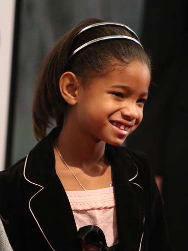 Willow debutó en 2007, con el protagónico de la película 'I Am Legend' junto a su padre Will Smith y su amiga Abril Helueni.