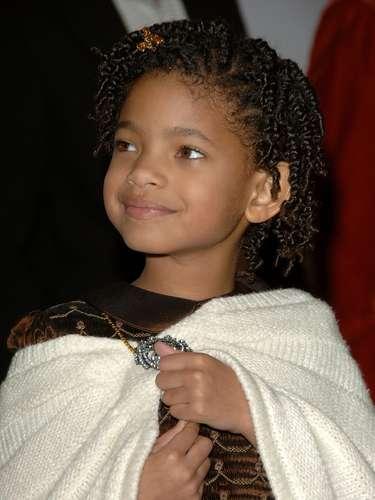 Pero Willow Smith  ya estaba  acostumbrada  a las Alfombras Rojas, aquí  en la premiere de 'Pursuit of Happyness' en diciembre de 2006