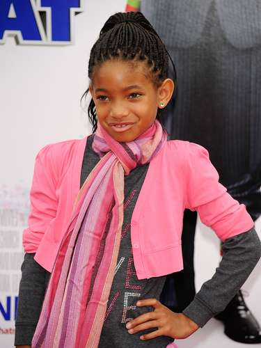 Desde muy niña Willow dio lecciones de estilo y en cada premiere fue imponiendo su look