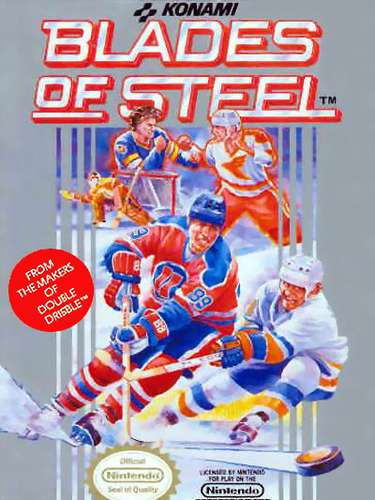 Before Electronic Arts cornered the market on sports games, other companies had success with various sports. In 1987, Konami released Blades of Steel in the arcades, and a year later, it found its way to the Ninendo gaming system. There were eight teams, but no official NHL players. the gameplay was fast and furious, but the highlights were the fights. When one player faced off against another, the loser would go to the penalty box, with the winner left unpunished.