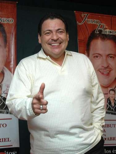 Julio Preciado junto a Fidel Rueda, Saúl \