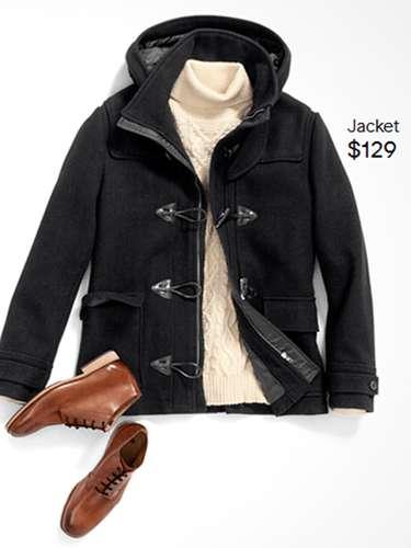 Este abrigo es perfecto para los hombre que quieran verse bien sin perder la masculinidad ($129)