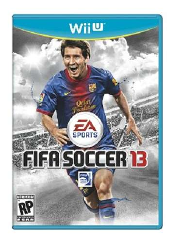 Fifa Soccer 13 para Wii: sabes que le encanta el fútbol y éste será su pasatiempo favorito - 49 dólares en target.com.