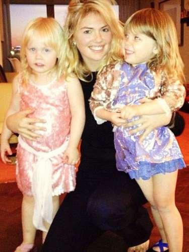 Pequeñas bailarinas: Kate Upton comparte este momento dulce junto a las palabras \