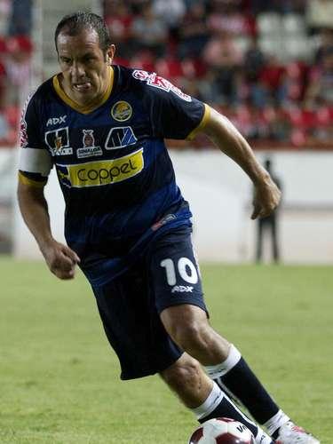 Cuauhtémoc Blanco podría terminar su carrera en Morelia, aunque también leinteresa a LobosBUAP