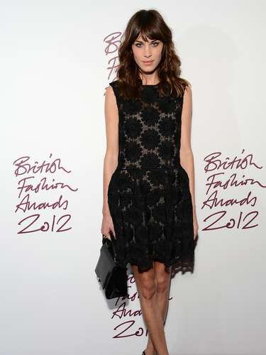 HIT: Alexa Chung showed off why she is such an influential fashionista.