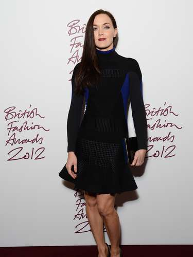 MISS: Victoria Pendelton at the British Fashion Awards.