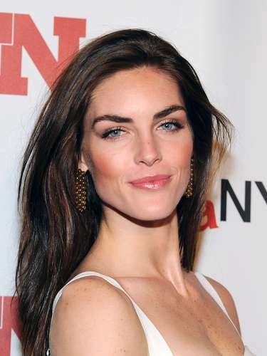 Hilary Rhoda was also at the event looking fab.
