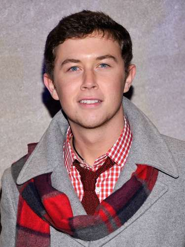 Scotty McCreery asiste  a la 80 ª Anual de Rockefeller Center