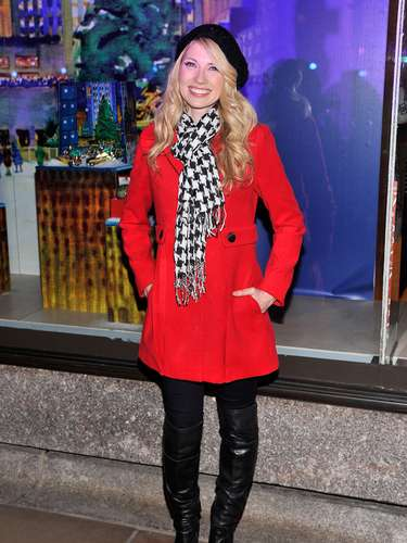 Brooke White asiste a la 80 ª Anual de Rockefeller Center