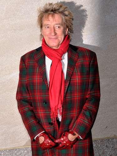 Rod Stewart asistee a la 80 ª Anual de Rockefeller Center