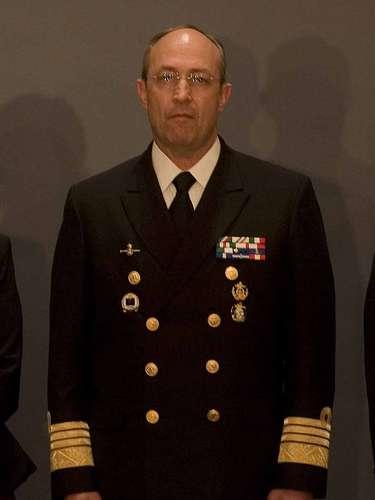 Secretaría de Marina. Almirante Vidal Soberón Sanz. Soberón Salas se desempeñaba como secretario particular del Secretario Marina, y fue ascendido apenas el 20 de noviembre pasado de su grado de vicealmirante, al que ascendió en 2009.