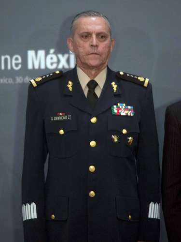 Secretaría de la Defensa Nacional. General Salvador Cienfuegos Zepeda, quien fungió como Oficial Mayor de la Sedena después de la jubilación del General Roberto Miranda Sánchez.