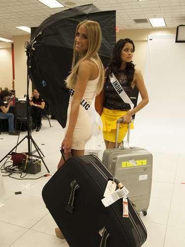 Tras su reciente llegada a la también conocida como Ciudad del Pecado, las candidatas al certamen de Miss Universo viven intensamente sus primeros momentos como competidoras en busca del título de belleza más preciado del mundo.