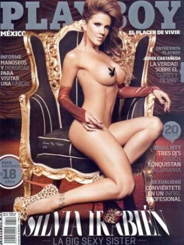 La chiva, Silvia Irabien,posó para una revista de caballeros. ¡Cuerpazo!