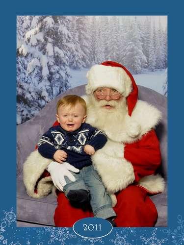 Llega la Navidad y los padres se alistan para llevar a sus hijos a conocer al famoso Santa Claus, pero la experiencia no siempre es placentera, aunque sí memorable. Mira cómo estos pequeños lloran al acercarse a Papá Noel