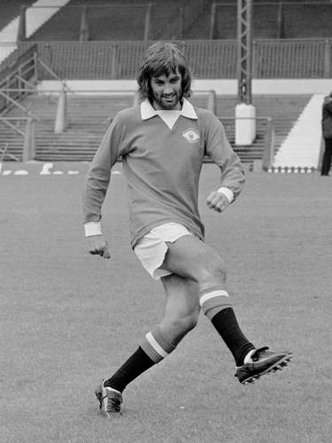 George Best fue un jugador fuera de serie con el Manchester United.