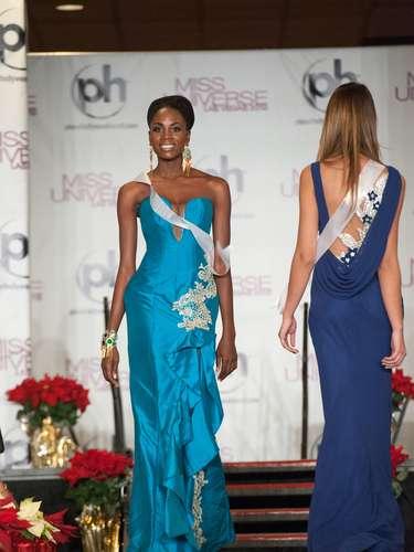 Miss Angola - Marcelina Vahekeni. Nació en Ondjiva en el año de 1990. Es modelo profesional y estudiante de gestión recursos humanos. Mide 1.70 metros de estatura. Su cabello es negro y sus ojos marrón.