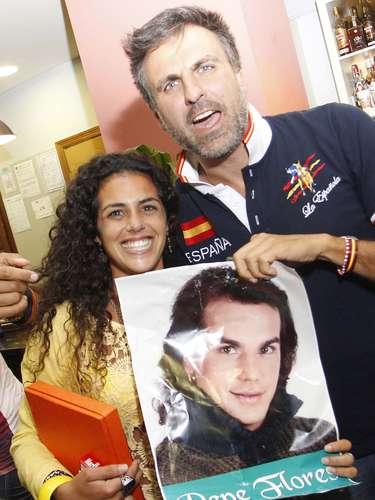 Pepe, junto a Noemí Merino, que protagoniza ahora el calendario 2013 de la revista Interviú.
