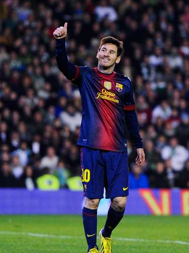 On December 9, 2012, Messi scored twice against Real Betis to tie and break, Muller's record for goals in a calender year. Stay tuned, more is to come...