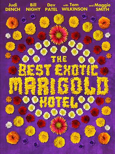 23. The Best Exotic Marigold Hotel. Un poster que nos remonta a la clásica portada de Sgt. Pepper's Lonely Hearts Club Band, ¿no lo creen?