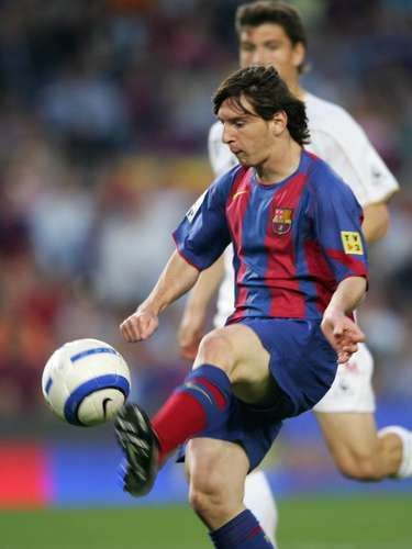 It all started on January 5, 2005, when the 17-year old Messi scored against Albacete with what would become one of his trademark chips after a marvelous pass from mentor Ronaldinho.