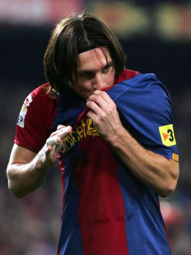 In the 2006/2007 season, Messi would announce his arrival as a force in the classic Barcelona versus Real Madrid Super Clasico with a hat trick earning his team a 3-3 draw.