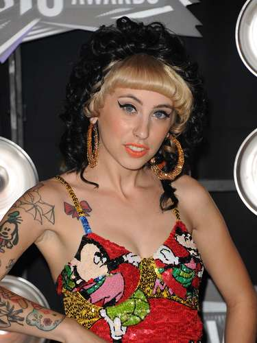 Rapper Kreayshawn shared a photo shared a picture of her \